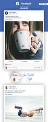 FREE Facebook Post Mockup - 2018 by MarinaD