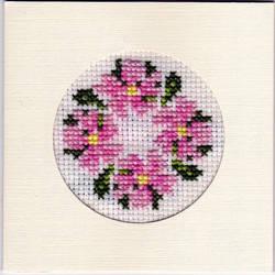 Pink Flower Circular by salford1