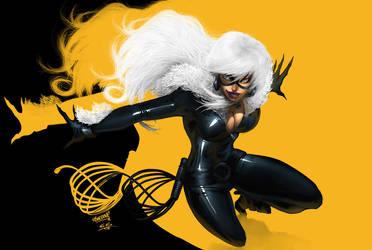 Black Cat Again by clonerh