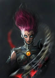 Darksiders 3 - Fury by clonerh