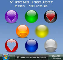V icons - Orbs by Veinctor
