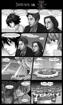 Death Note VS X-files by Veinctor