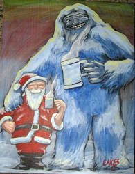yeti and the big guy by mlakes53