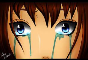 Kazemai is crying by Kazemye