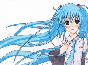 Hatsune Miku by MagicallyMonique