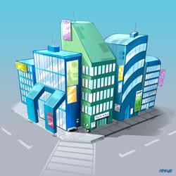 I Tek-Yo Stuff - Business District by nirryc