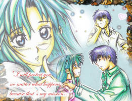 full metal panic fan art by mathel