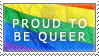 Proud To Be Queer by Rosenezz