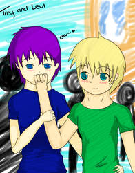 Trey and Levi by Rosenezz