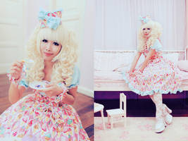 Little Miss Tea Party by dolldelight