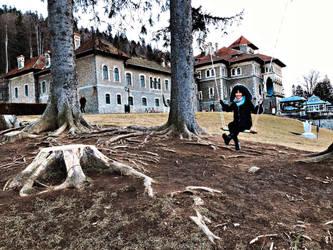 Castle fun by evelinaaaa25