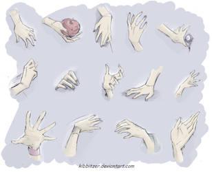 hands by Kibbitzer