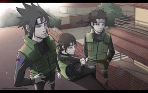 Uchiha police force by Kibbitzer
