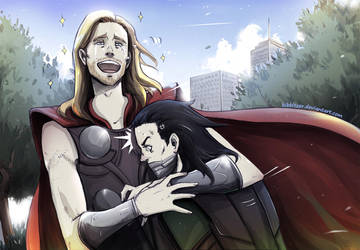 LOL Thor: manly tears XD by Kibbitzer