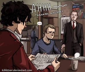BBC Sherlock -Awkward Ringtone- by Kibbitzer