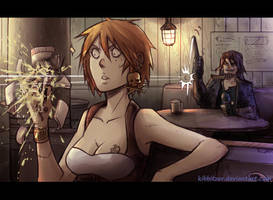 THAT WAS MY FUCKING BEER!!! by Kibbitzer