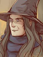 Young Gandalf by Kibbitzer