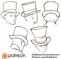 Top Hats Reference Sheet by Kibbitzer