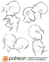 Kisses Reference Sheet by Kibbitzer