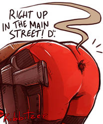 RIGHT UP IN THE MAIN STREET! D': by Kibbitzer