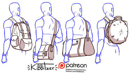 Bags reference sheet by Kibbitzer