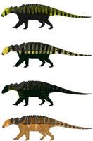 Four Edmontonia by StygimolochSpinifer