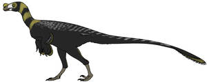 Ornitholestes by StygimolochSpinifer