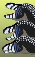 Lippy Tyrannosaurs by StygimolochSpinifer