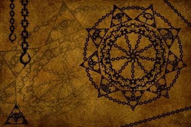 Magic Circle 9 - The cage by DAZUMA