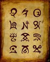 12 spell runes by DAZUMA