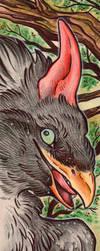 Guanicorn Bookmark ART by Idlewings