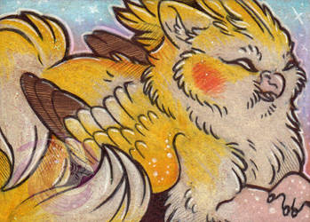 Ziggy Gryph ACEO by Idlewings