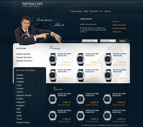 e-shop with watches by kml90