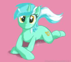 Lyra Sitting Pose by NolyCS