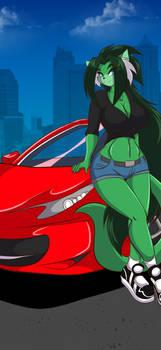Hot Ride by Mastergodai