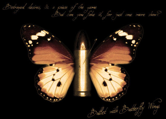 Bullet with Butterfly Wings by hybridia