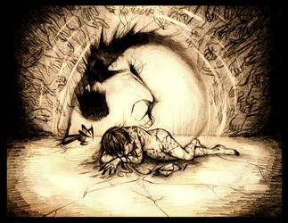 My Whispers of Horror by WalkingMelonsAAA