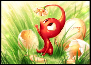 Red Pikmin - Magic Yolk by WalkingMelonsAAA