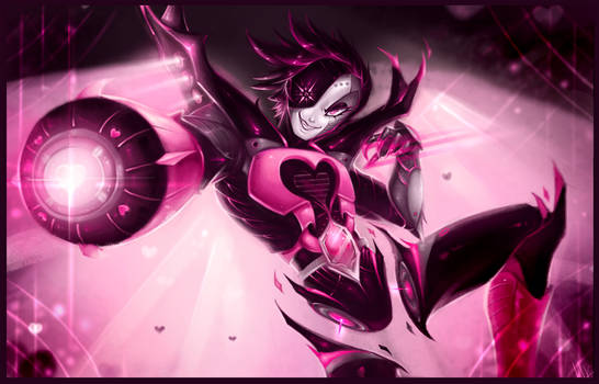 The Power of Mettaton Neo - Undertale by WalkingMelonsAAA