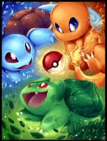 PICK YOUR STARTER!!! - Pokemon by WalkingMelonsAAA