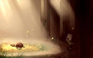 The Fallen Child (UNDERTALE) by WalkingMelonsAAA