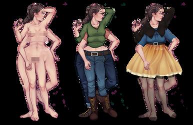 Marie's wardrobe by hadh