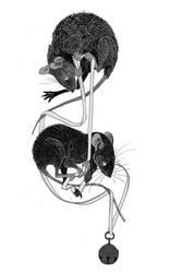 The Mice in Council (inktober #30) by Rusakkoko