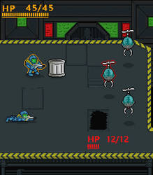 SciFi  Tactical Combat Mockup by Johasu