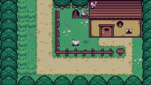 Zelda Stylized Scene by Johasu