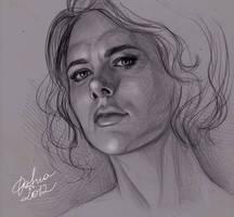 Natasha Romanoff, Black Widow by DafnaWinchester