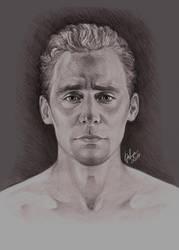 Tom Hiddleston by DafnaWinchester