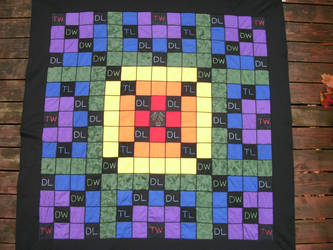 The Most Awesome Scrabble Board Ever by OronoStitcher