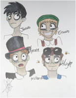 Miss Peregrine: The Boys by hedgiegirl