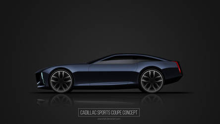 Cadillac Sports Coupe Concept by utsavshah